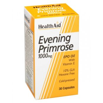 Health Aid Evening Primrose 1000mg, 30caps