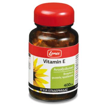 Lanes Βιταμίνη Ε, 400i.u., 30 μαλακές κάψουλες