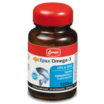 Lanes Epax® Omega-3, 1200mg, 30 κάψουλες