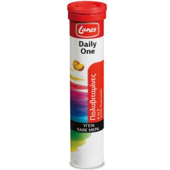 Lanes Πολυβιταμίνες Daily One, 20 αναβρ. Ταμπλέτες, γεύση πορτοκάλι