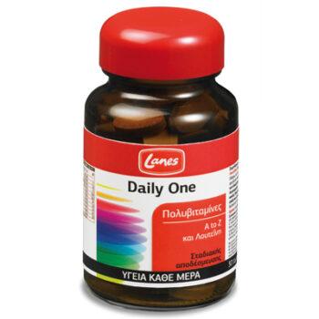 Lanes Πολυβιταμίνες Daily One, 30 ταμπλέτες σταδιακής αποδέσμευσης
