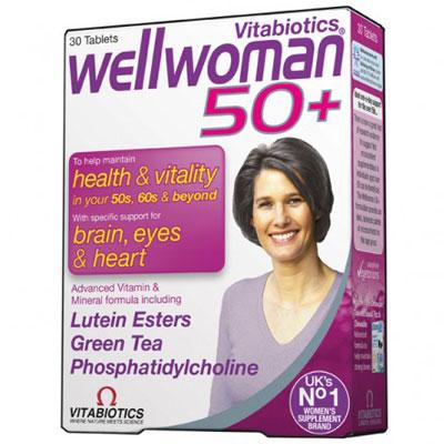 Wellwoman 50+ ,30tabs