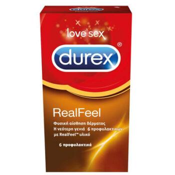 Durex Real Feel  6 τμχ