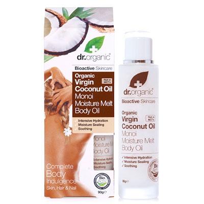 Dr.Organic Virgin Coconut Oil Moisture Melt Body Oil, 90 gr