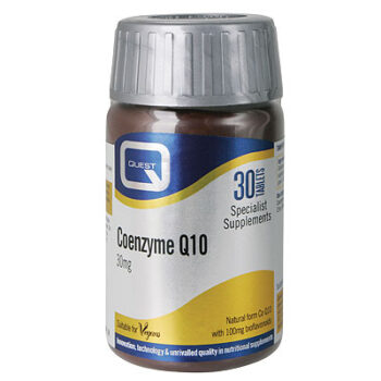 Coenzyme Q10 30mg with Bioflavonoids, 30tabs