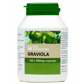 Graviola Vegicaps, 120 φυτοκάψουλες x 500mg