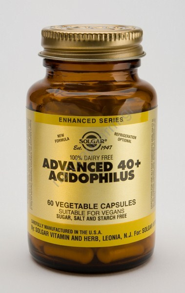 Solgar Advanced 40+ Acidophilus vcaps 60s