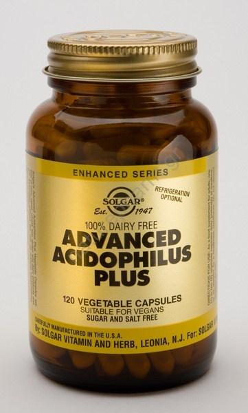 Solgar Advanced Acidophilus Plus vcaps 120s