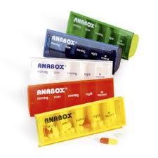 Anabox  Ημερήσια Θήκη Χαπιών