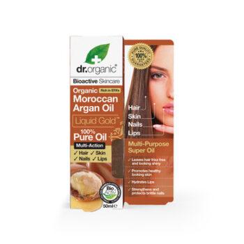 Dr. Organic Argan Oil Liquid Gold, 50ml