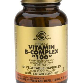 Solgar B-100 Complex veg. caps 50s