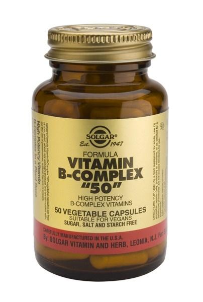 Solgar B-50 Complex veg. caps 50s