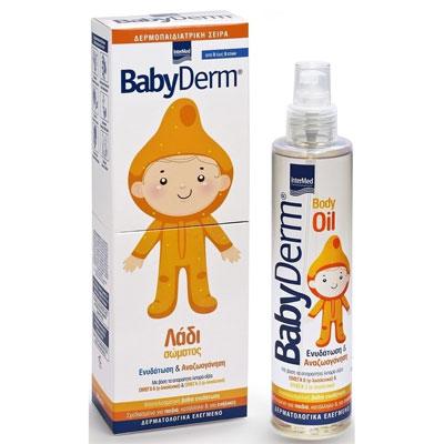 Babyderm Body oil, 200ml