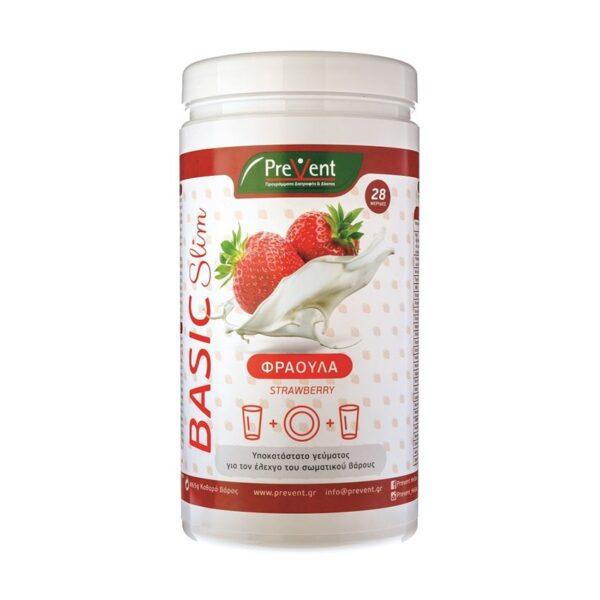 Prevent Basic Slim Φράουλα, 465gr