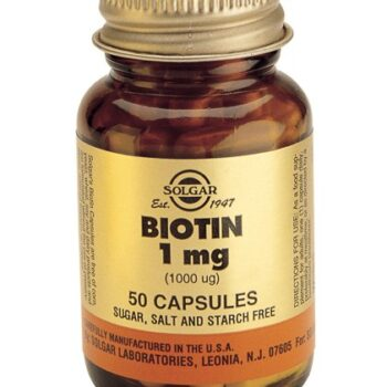 Solgar Biotin 1000μg veg.caps 50s