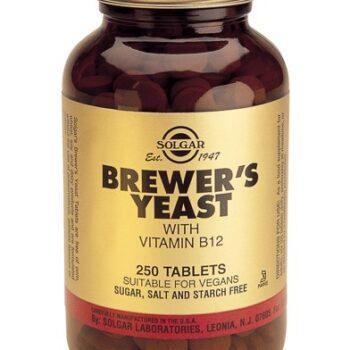 Solgar Brewer's Yeast 500mg tabs 250s