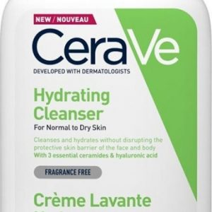 CeraVe Hydrating Cleanser Cream for Normal to Dry Skin, 473ml