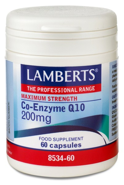 Lamberts Co-Enzyme Q10 200mg, 60caps