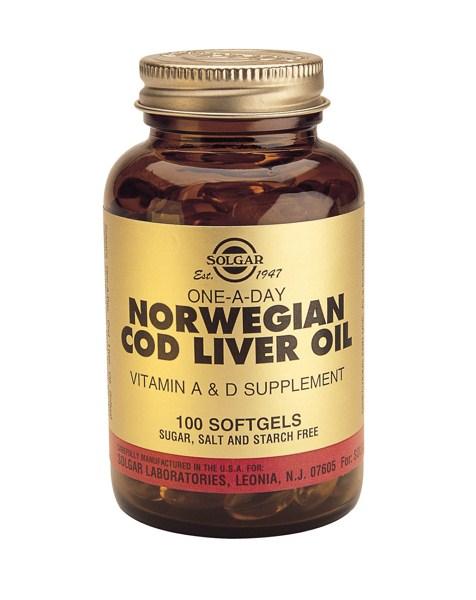 Solgar Cod Liver Oil softgels 100s