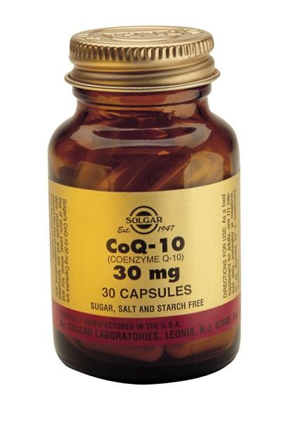 Solgar Co-Enzyme Q-10 30mg veg caps 30s