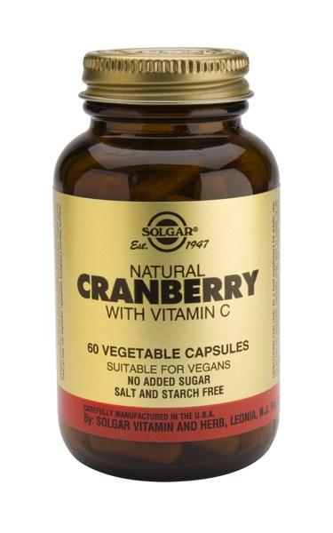 Solgar Cranberry Extract with vit. C veg.caps 60s