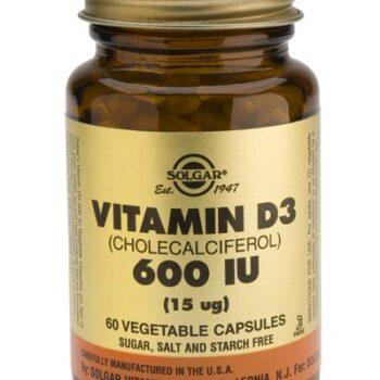 Solgar Vitamin D-3 600 IU veg.caps 60s