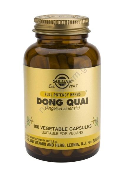 Solgar Dong Quai veg caps 100s