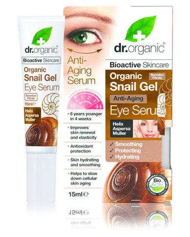 Dr. Organic Snail Gel Eye Serum, 15ml