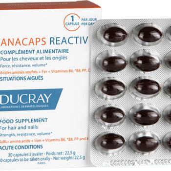 Ducray Anacaps Reactiv, 30 κάψουλες