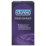 Durex Total Contact, 6τεμ.