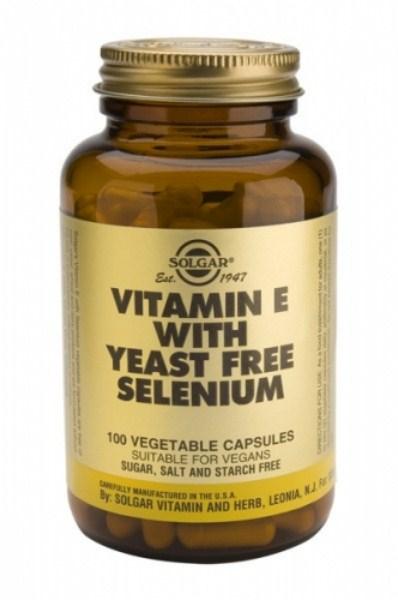 Solgar E+Selenium veg.caps 100s