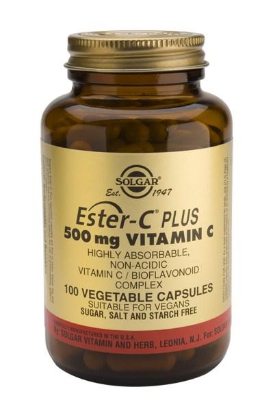 Solgar Ester-C 500mg veg.caps 100s