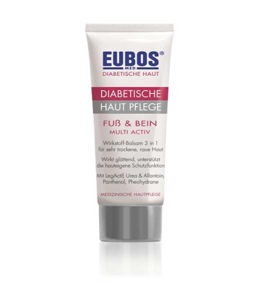 Eubos Diabetic Skin Foot & Leg Lait, 100ml