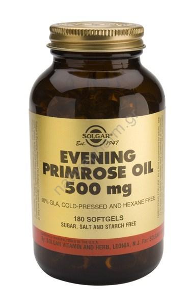 Solgar Evening Primrose Oil 500mg softg.180s