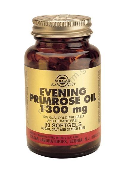 Solgar Evening Primrose Oil 1300mg softg.30s
