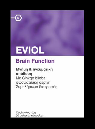 Eviol Brain Function, 30caps