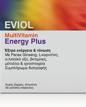 Eviol MultiVitamin Energy Plus, 30caps