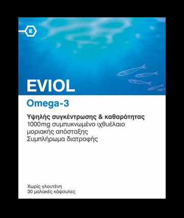 Eviol Omega-3, 30caps