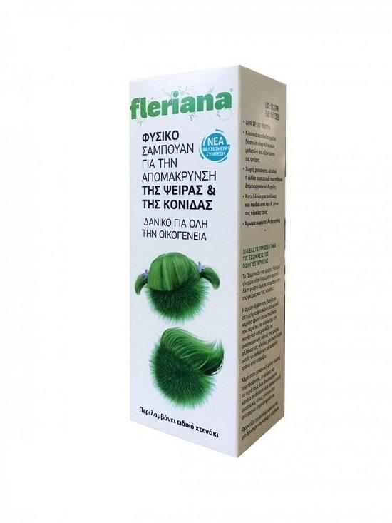Fleriana Anti Lice Shampoo Νέα Βελτιωμένη Σύνθεση, 100ml