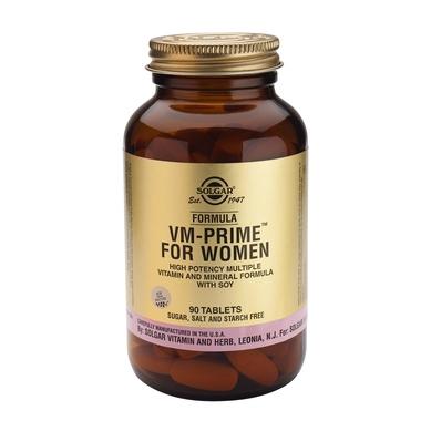 Solgar Formula VM Prime for Women, tabs 90s