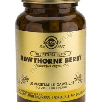 Solgar Hawthorne Berry veg caps 100s