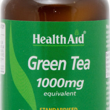 Health Aid Green Tea 1000mg, 60 ταμπλέτες