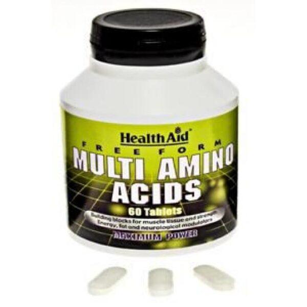 Health Aid Multi Amino Acids, 60tabs