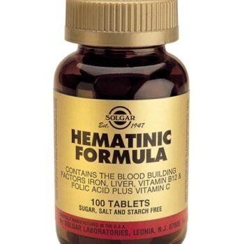 Solgar Hematinic Formula, tabs 100s