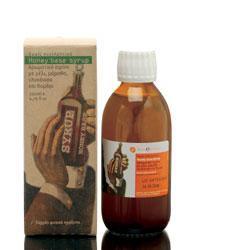 Korres Σιρόπι για το Λαιμό(Honey Base Syrup) ,200ml