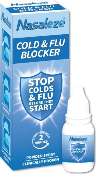 Nasaleze Cold & Flu Blocker, 800mg