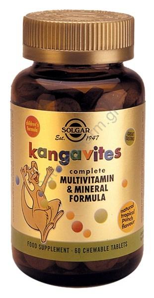 Solgar Kangavites Formula chew. tabs 60s