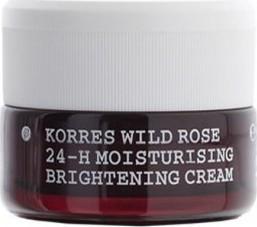 Korres Wild Rose Kρέμα Ημέρας για Λάμψη & Πρώτες Ρυτίδες με Άγριο Τριαντάφυλλο Ξηρές Επιδερμίδες, 40ml