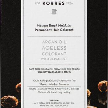 Korres Argan Oil Ageless Colorant Νο 9.17 Κατάξανθο Ανοιχτό Μπεζ, 50ml