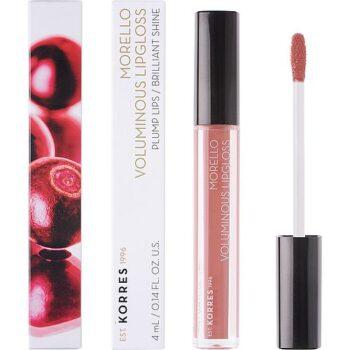 Korres Morelo Voluminous Lipgloss No04 Honey Nude, 4gr